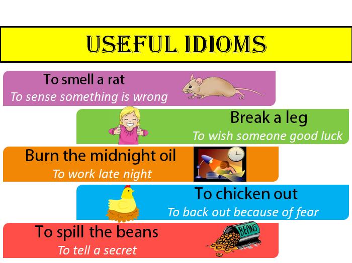 ТОП-50 популярных идиом на английском