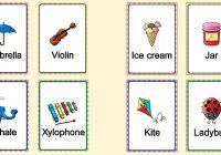 карточки английского языка