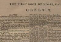 The Book of Genesis - Книга Бытие