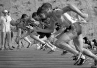 легкая атлетика - Конкуренция