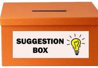 Коробка предложений - Коробка