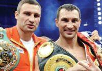 Klitschko brothers are my favorite athletes - Братья Кличко мои любимые спортсмены