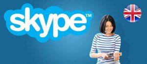 Изучения английского через skype